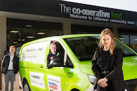 Co-op rolls out app that allows shoppers eco-friendly home deliveries in less than an hour