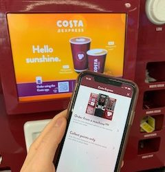 Costa Express launches  contactless ordering system across 9,000+ coffee bars nationwide