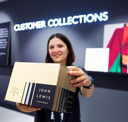 John Lewis Partnership enhances click & collect service to deliver customers more convenient ways of shopping this Christmas