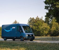 Amazon's launches first custom-designed and built  electric delivery vehicle in partnership with Rivian
