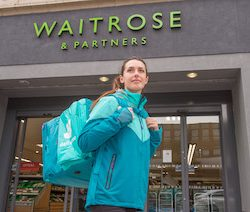 Waitrose and Deliveroo expand trial early to meet high demand