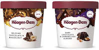 Häagen-Dazs launches luxury chocolate nut range