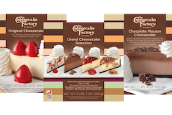US dessert brand, The Cheesecake Factory, arrives in the UK