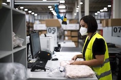 XPO Logistics increases productivity and safety in e-commerce warehouses with touchless machine vision scanners