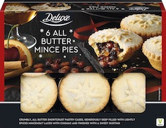 Lidl launches Deluxe Festive Mince Pie range with new Speculoos Tart option