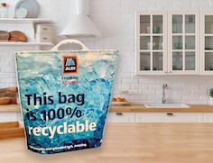 Aldi launches new 100% recyclable freezer bags