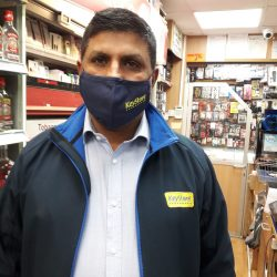 KeyStore invests in branded face masks for retailers across Scotland and north of England
