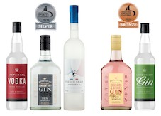 Spar takes five medals in ISC spirits challenge