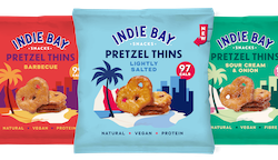 Indie Bay to shake up crisp category with launch of Pretzel Thins