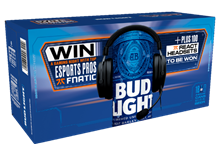 Bud Light teams up with esports legends Fnatic for on-pack promotion