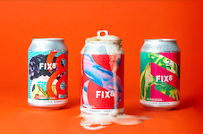 FIX8 launches kombucha in cans