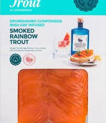 Goatsbridge launches limited-edition gin infused cold smoked rainbow trout in the UK