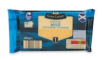 Aldi introduces new packaging across entire Glen Lochy block cheddar range in Scotland