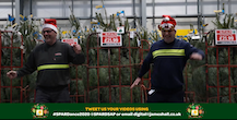 Spar in the north dances its socks off for Marie Curie in festive fundraiser video