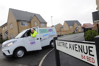 Bensons for Beds trials electric delivery vans