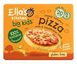 Ella's Kitchen expands much-loved frozen Big Kids range with Cheesy Tomato-y Pizza