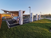 Motorway chargers speed up move to net zero