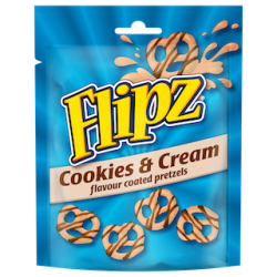 pladis launches Flipz Cookies & Cream
