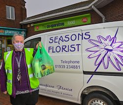 100,000th home delivery made by The Midcounties Co-operative