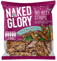 Naked Glory launches No-Beef Strips and Chick'n Burgers in time for Veganuary