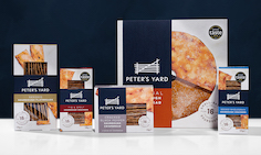 B&B studio refreshes Peter's Yard positioning and packaging