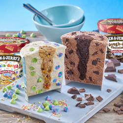 Ben & Jerry's launches Cookie Dough Twists