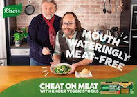 Knorr returns to TV screens for the first time in three years with its #CheatOnMeat campaign