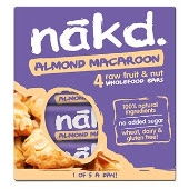 Nakd goes nutty with new Almond Macaroon flavour