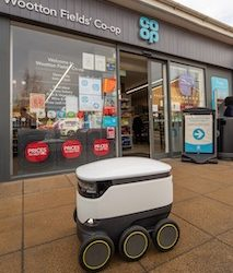 Co-op to further extend robot deliveries in Northampton