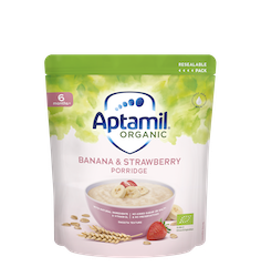 Aptamil expands Organic range with the launch of Aptamil Organic Cereals