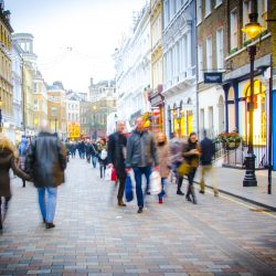 Springboard: footfall in UK retail destinations rose yesterday by +155.2% from same day last week, and by +225.2% in shopping centres