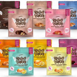 No Guilt Bakes launches six-strong on-the-go cakes range in recyclable packaging
