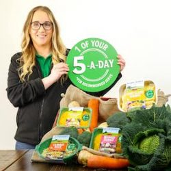 Mash Direct launches Five By Five Challenge campaign to encourage individuals to eat more vegetables