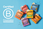 Graze, Unilever's healthy snacking brand, is celebrating becoming a B Corporation