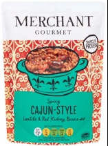 Merchant Gourmet launches new Cajun-style pouch