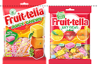 Fruittella unveils sweet new look and reduces plastic across its portfolio