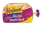 Kingsmill launches two new  loaves: Kingsmill 50/50 Multi-Seed and Kingsmill 50/50 No Bits Multi-Seed