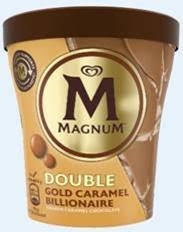 Magnum launches Double Gold Caramel Billionaire
