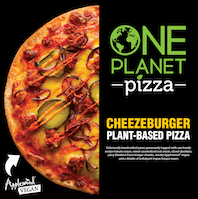 Plant-based frozen pizza company, One Planet Pizza, partners with dairy giant, Norseland