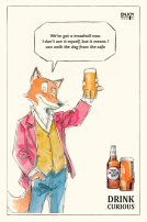 Old Speckled Hen's Henry the Fox on life in lockdown