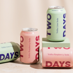 RTD vodka soda brand, Two Days, secures six figure cash injection