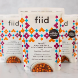 fiid adds sixth meal to range of plant-based lunch bowls