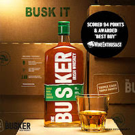 Irish whisky brand, The Busker, sweeps up at  number of drinks awards