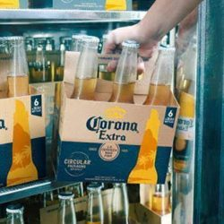 Corona reinvents sustainable packaging by launching beer pack made using barley