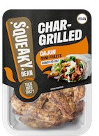 Realistic vegan 'chicken' launches today at Asda from Squeaky Bean