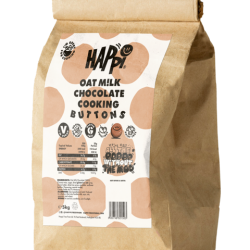 Happi targets trade with new catering size Oat Milk Chocolate Cooking Buttons