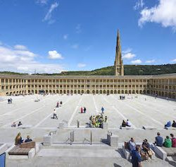 The Piece Hall, Halifax, prepares for its 'great reopening'