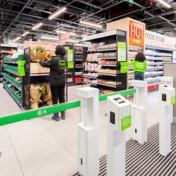 Amazon Fresh store opens in Canary Wharf