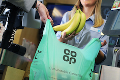 Co-op to remove plastic bags for life from sale in all 2,600 stores, warning the low-cost, reusable bag has become the new single-use carrier
