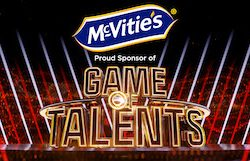 McVitie's is headline sponsor of ITV's brand new talent show Game of Talents, hosted by Vernon Kay